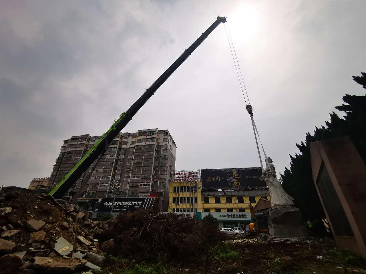 【分享红包】辛弃疾广场雕像被拆了!快来向他告别吧!