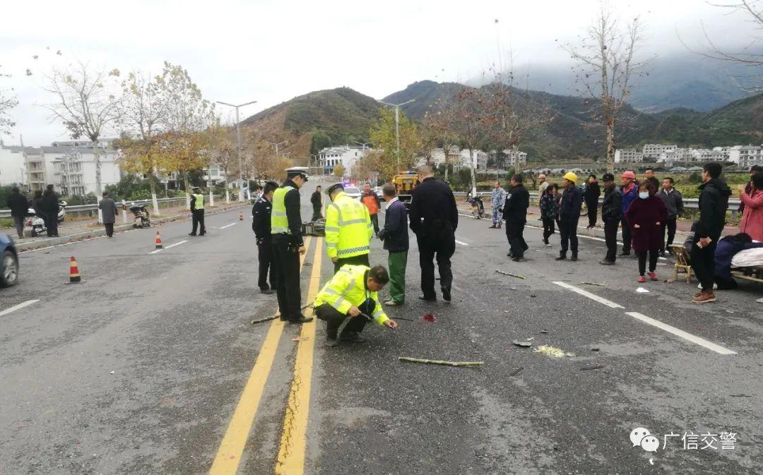 上饶一女子被撞身亡,肇事逃逸司机2小时即被抓!