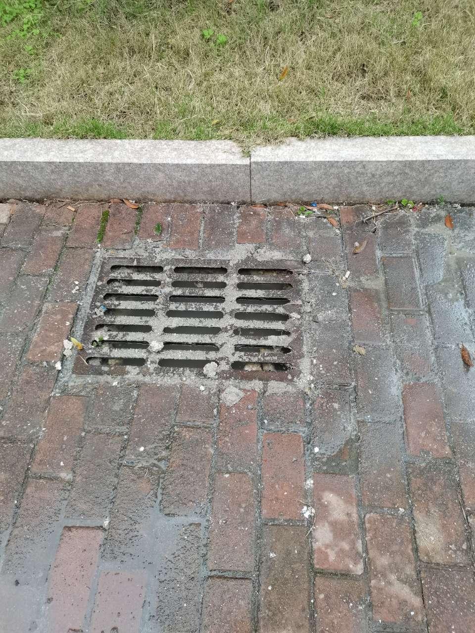 信江华苑小区下水道没处理好现在经常爆出来,臭气熏天